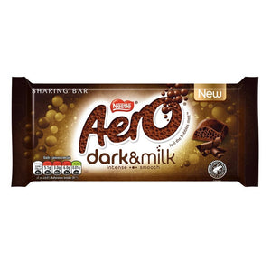 AERO GIANT BAR DARK & MILK 90G X 15 UNITS