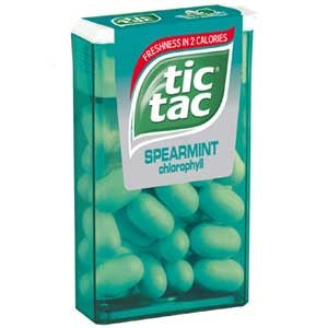 TIC TAC BIG PACK MIX SPEARMINT 12 UNITS