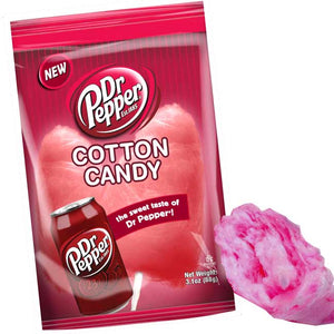 TASTE OF NATURE COTTON CANDY DR. PEPPER 3.1 OZ X 12CT