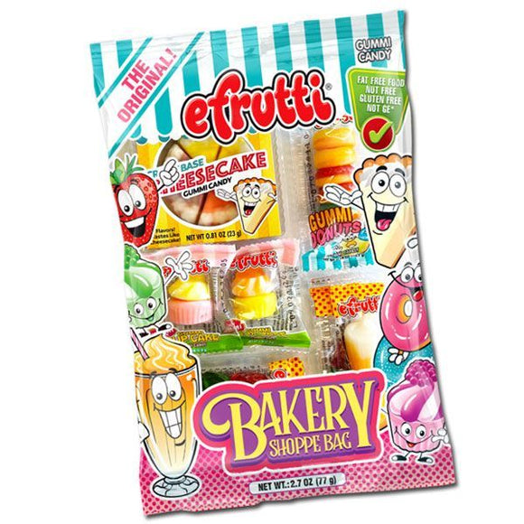 EFRUTTI GUMMI THEME BAG BAKERY SHOPPE  X 12 UNITS