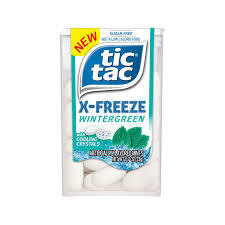 TIC TAC X-FREEZE WINTERGREEN (12 UNITS)