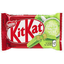 NESTLE KITKAT GREEN TEA 35g (24 UNITS)