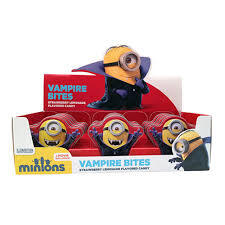 BOSTON AMERICA - MINIONS - STUART THE VAMPIRE TIN X 18 UNITS