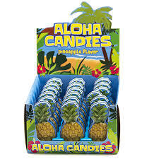 BOSTON AMERICA - ALOHA CANDIES X 18 UNITS