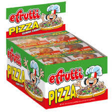 EFRUTTI GUMMI PIZZA (WRAPPED) 48 UNITS