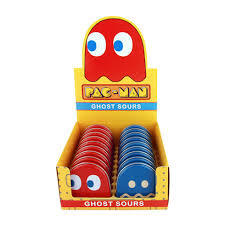 BOSTON AMERICA - PAC-MAN - GHOST SOURS TIN X 18 UNITS