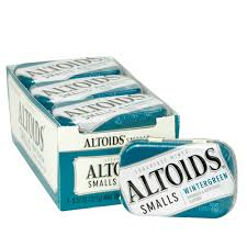 ALTOIDS SMALLS WINTERGREEN 9 UNITS
