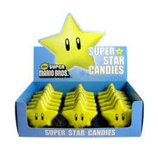 BOSTON AMERICA - NINTENDO SUPER STAR SOURS X 18 UNITS