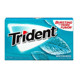 TRIDENT VALUE PACK WINTERGREEN 12 UNITS