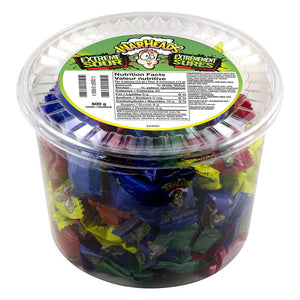 WARHEADS EXTREME SOUR HARD CANDY TUB  (120 UNITS)