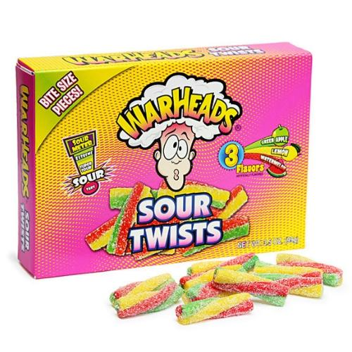 THEATER BOX WARHEADS SOUR TWISTS 3.5OZ 12 UNITS