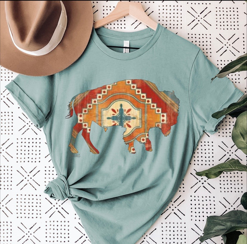 Roaming Buffalo Graphic Tee