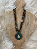 Patina Concho Necklace