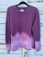 Lavender Distressed Sweater (LARGE)