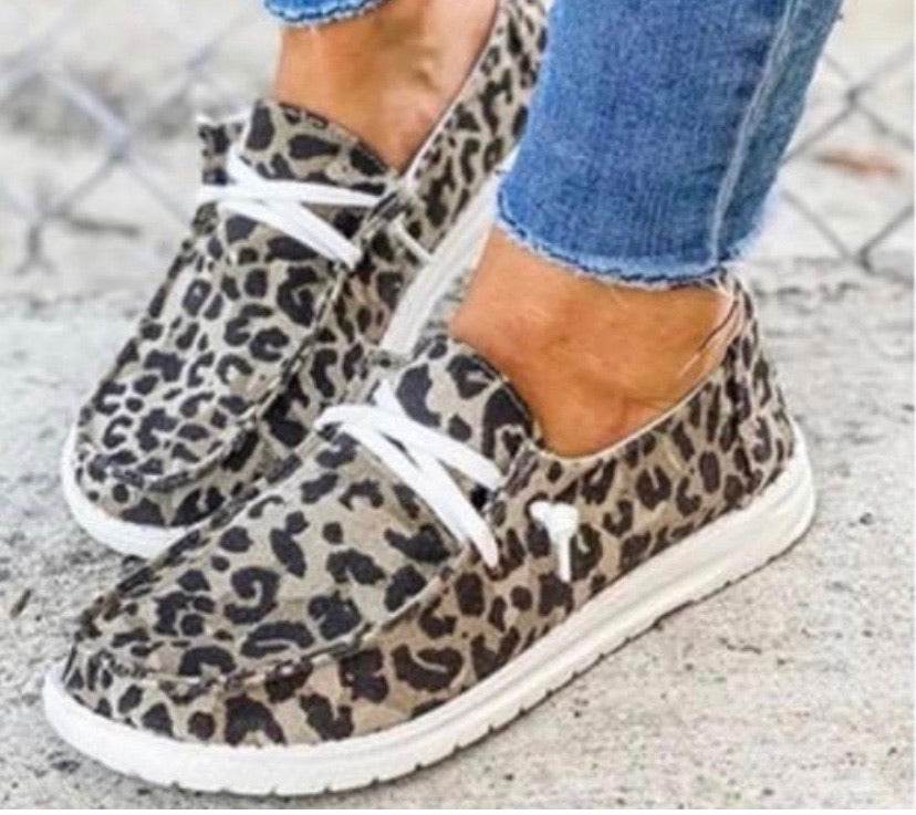 Leopard Holly Loafer