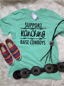 Support Ranching Graphic Tee