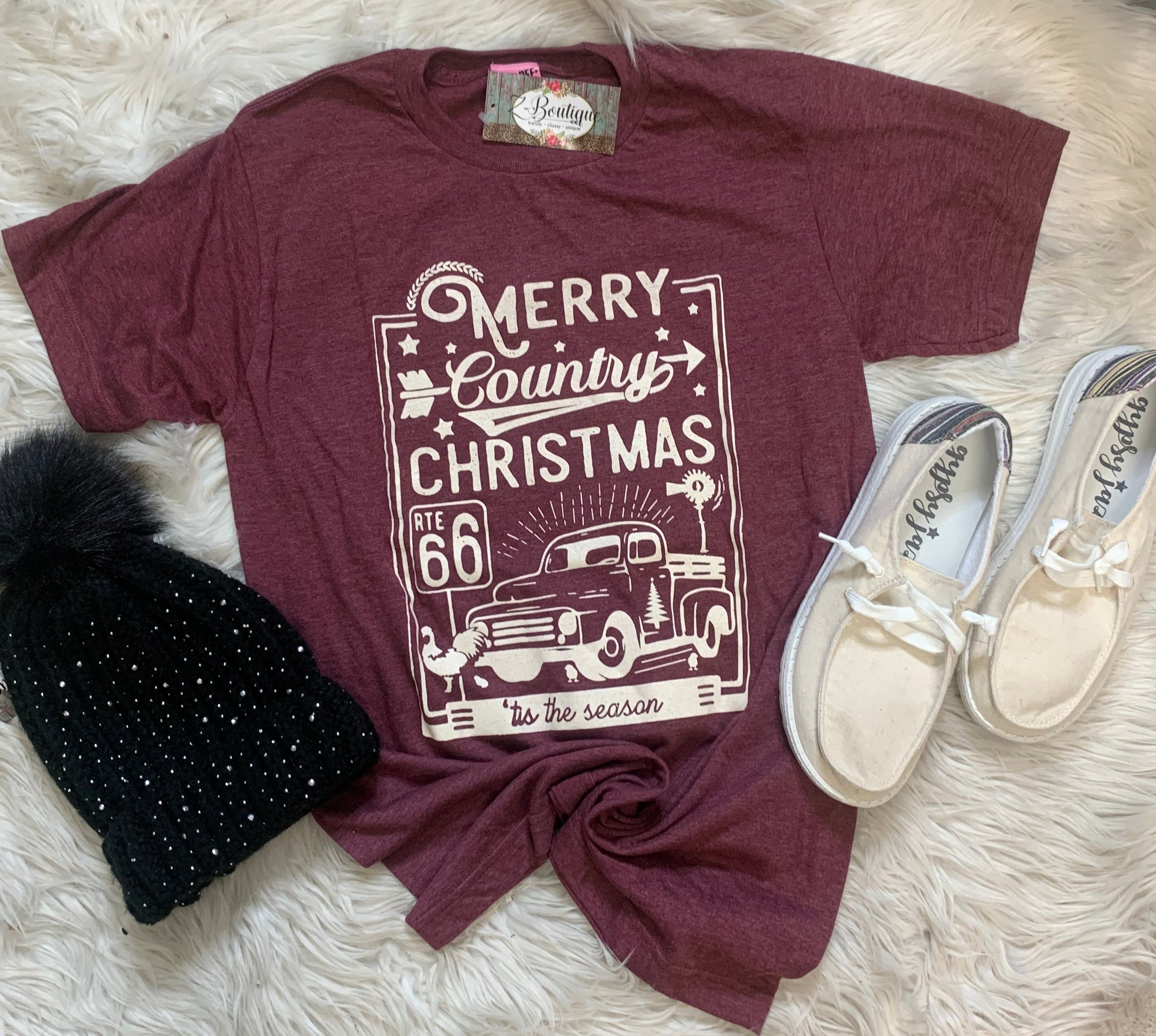 Country Christmas Graphic Tee