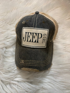 Jeep Girl Ball Cap