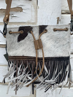Fringe Girl Hair On Bag