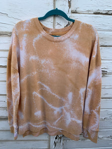 Mustard Distressed Sweater (LARGE)