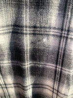 Black Lined Flannel