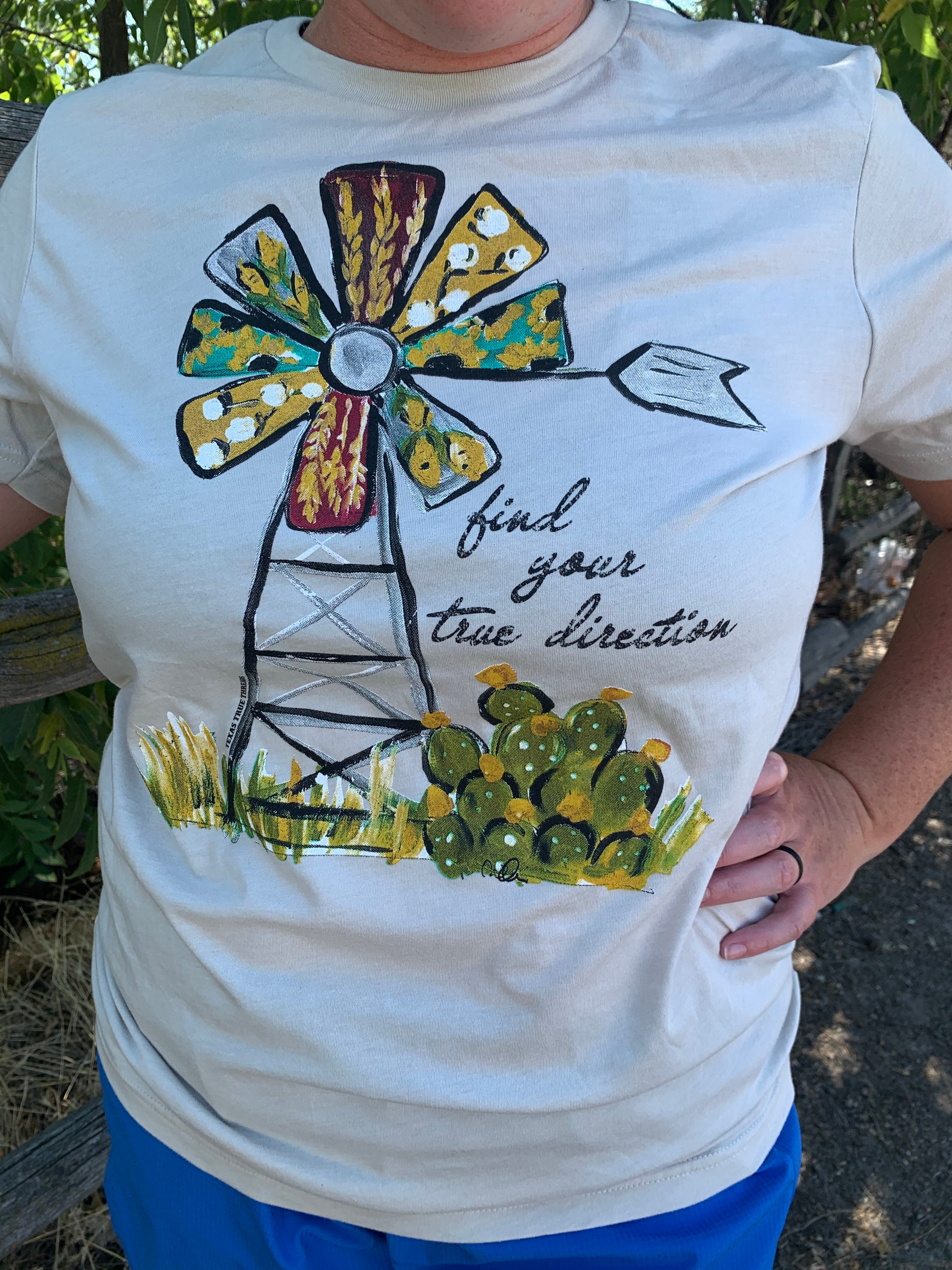 Windmill Graphic Tee