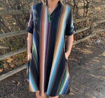 Black Serape Dress