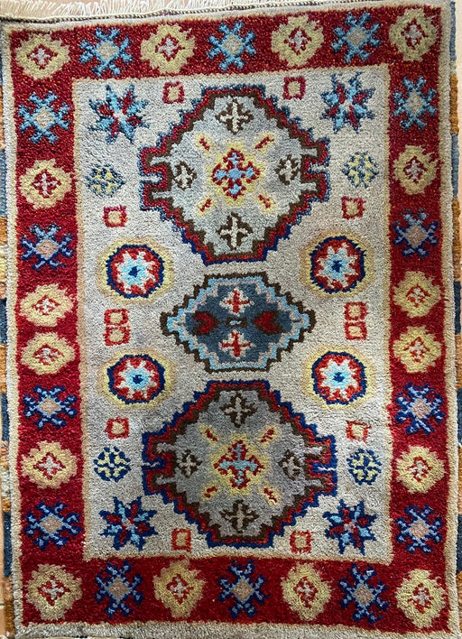 Hand Knotted Kazak Rug, Accent Rug, Wool, 2 x 3 - EZ Rugs & Art -rug