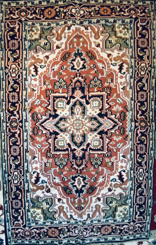 Royal Heriz Serapi, Traditional Rug, 5' x 8', Wool - EZ Rugs & Art -rug