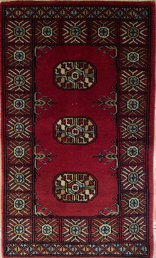 Torkaman/ Bokhara Small Rug. Turkish Accent Rug - EZ Rugs & Art -rug