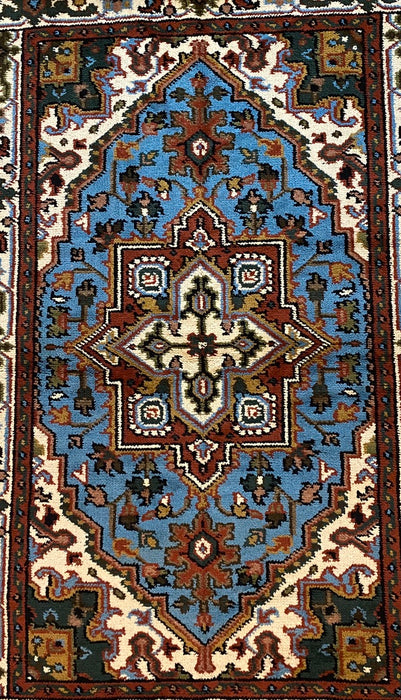 "Royal Heriz Serapi Traditional Wool Rug, 4'0"" x 5'11"" - EZ Rugs & Art -rug"