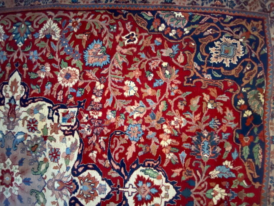 Persian Mashad Rug, Wool,10 x 8