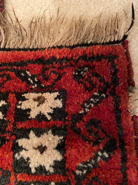 Persian Qashqai Rug, Vintage Persian Area Rug,  about 7' x 4' - EZ Rugs & Art -rug