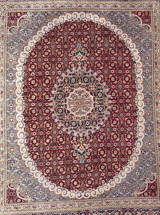 "Persian Mashad Rug, 10'4"" x 8'2"", Wool"