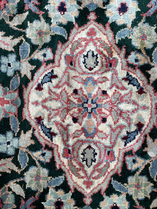 Kashan Design Rug, Wool, India, 3 x 5