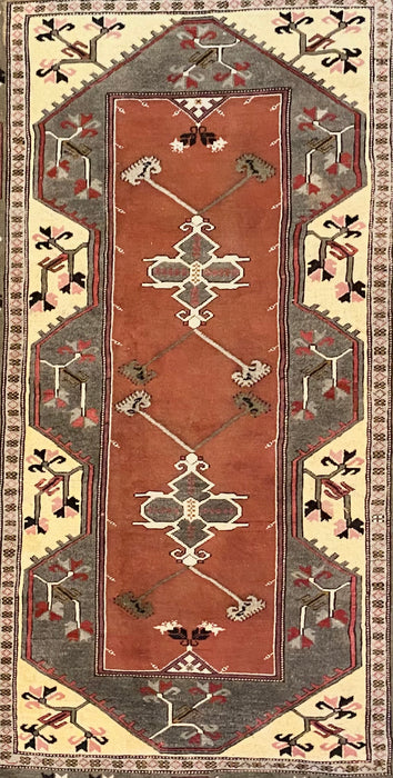 "Hand Knotted Persian Tribal Rug, 9'5"" x 6'11"""