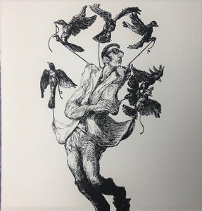 "Elbow-Toe ""On the Wings of Desire"" Signed Limited Edition Print"