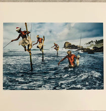 Load image into Gallery viewer, Steve McCurry | Fishermen, Welligama | Signed | Limited Edition