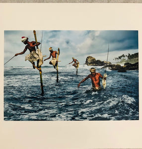 Steve McCurry | Fishermen, Welligama | Signed | Limited Edition