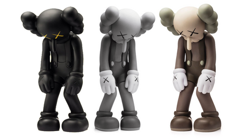 KAWS Small Lie Full Set of 3 (2017)