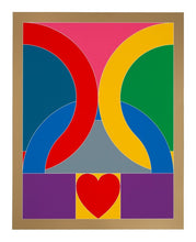 "Load image into Gallery viewer, Peter Blake Signed Limited Edition ""Olympic Symbol 2020"""