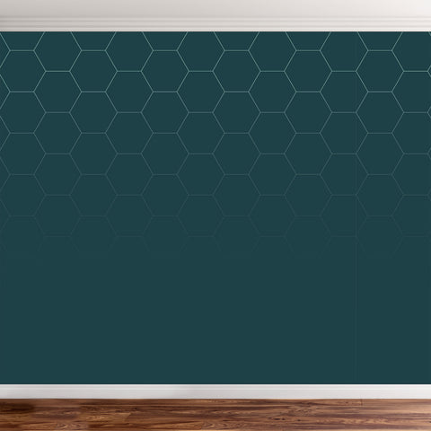 Hexagonal wallpaper