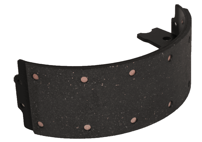 Brake Shoe, Lined-Emergency