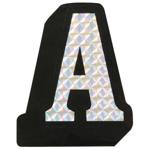 """A"" Prism Style Adhesive Letter"
