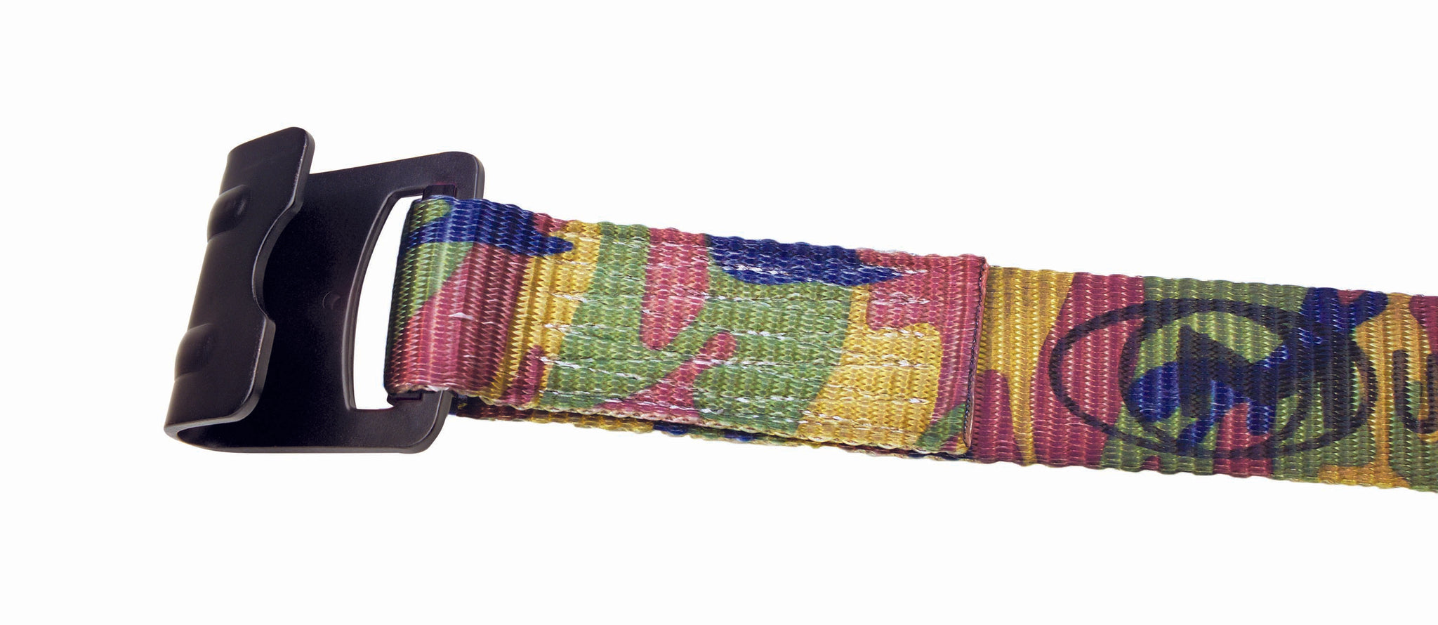 "CAMO - 4"" WINCH STRAP WITH #215 FLAT HOOK - 27FT"