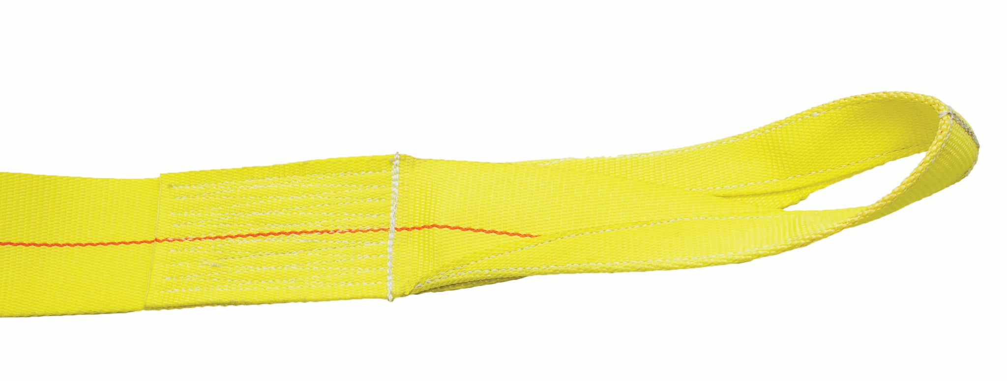 "3"" WINCH STRAP WITH SEWN EYE - 27FT"