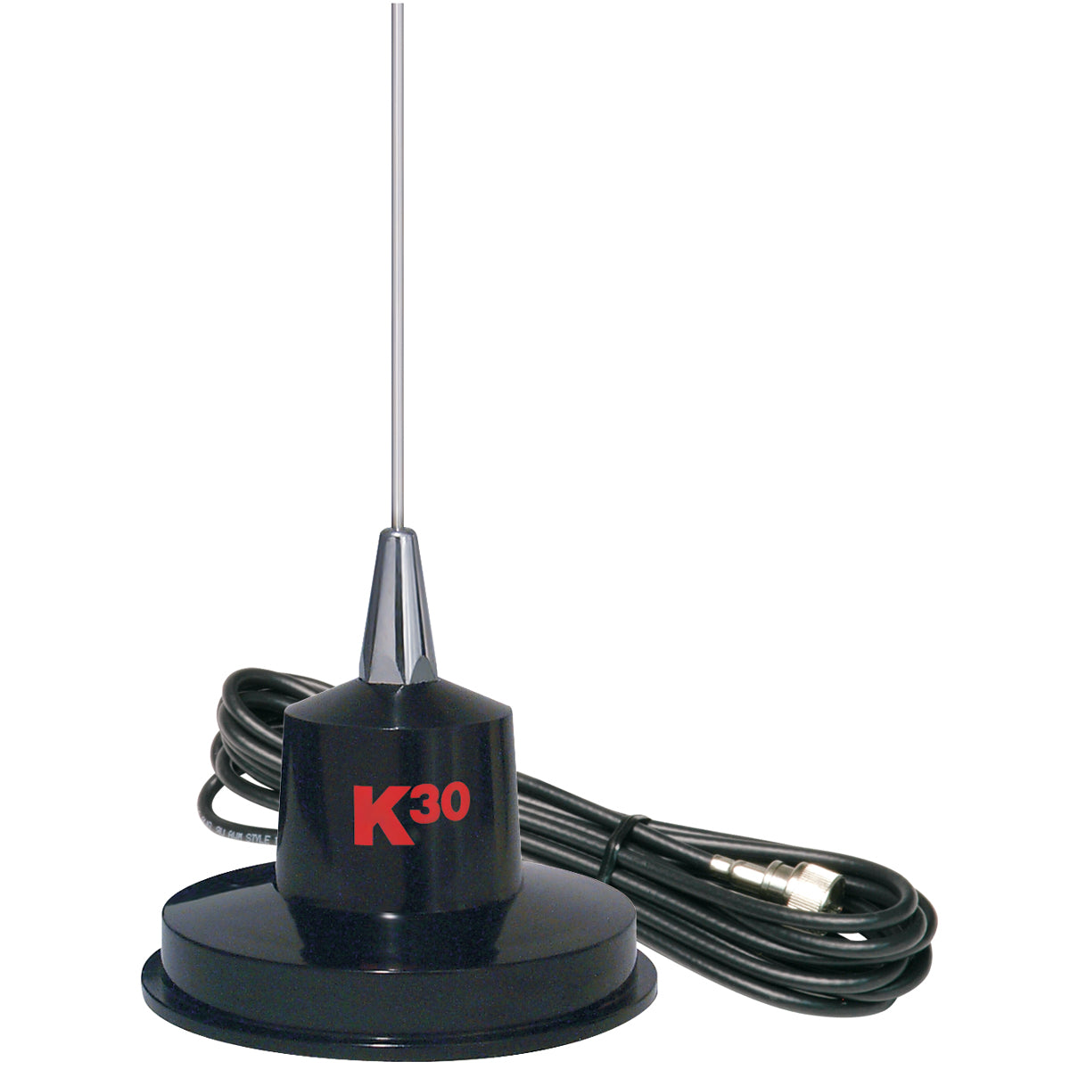 "35"" Magnet Mount Stainless Steel CB Antenna, 300 Watts"