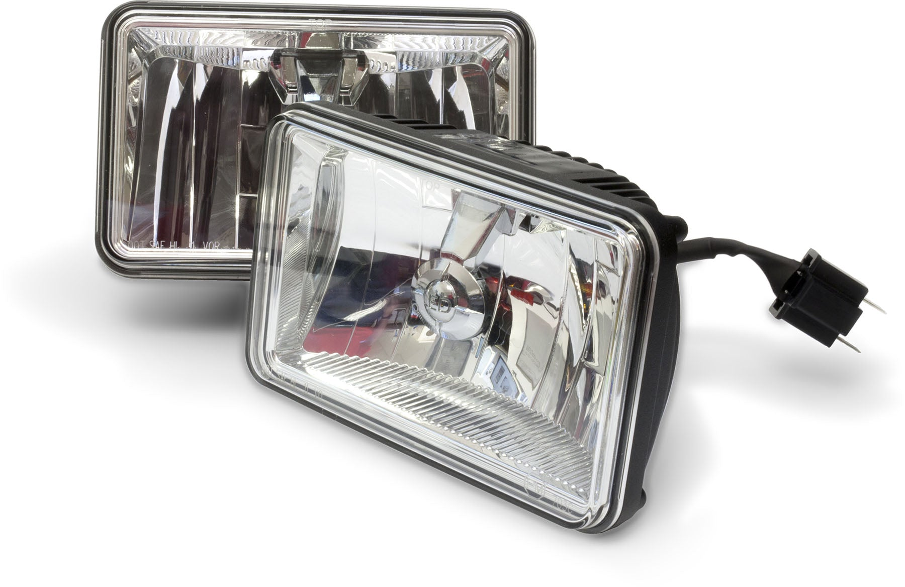 "LED HEADLIGHT RECT HIGH-BEAM, 4""X6"""