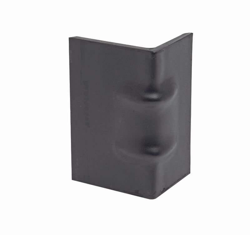 STEEL CORNER PROTECTOR WITH RUBBER BACKING