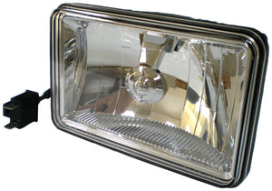 "LED HEADLIGHT RECT LOW-BEAM, 4""X6"""